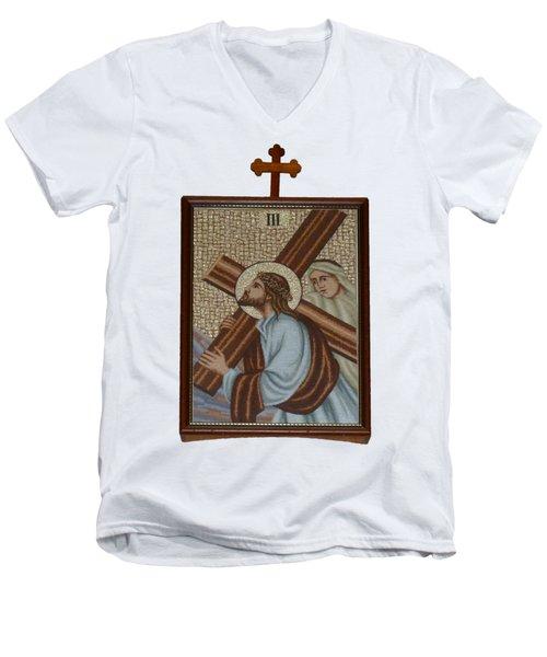 Religion  3 Men's V-Neck T-Shirt