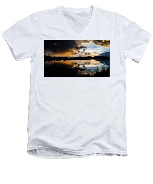 Remains Untrusted Men's V-Neck T-Shirt