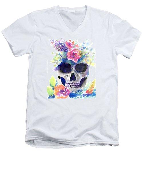 Rememberance Men's V-Neck T-Shirt by Arleana Holtzmann