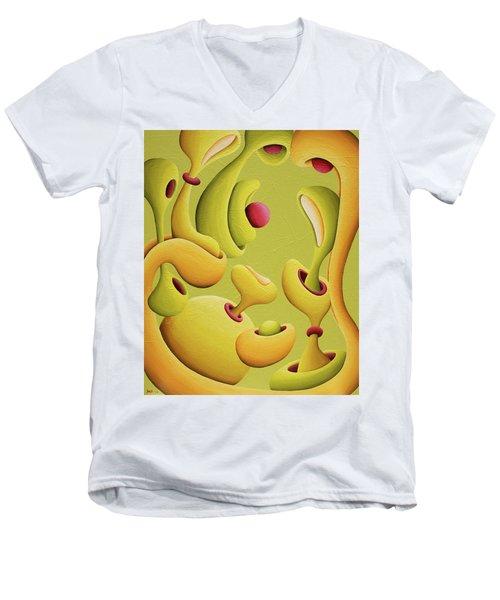 Renassansical Generation Jam Men's V-Neck T-Shirt