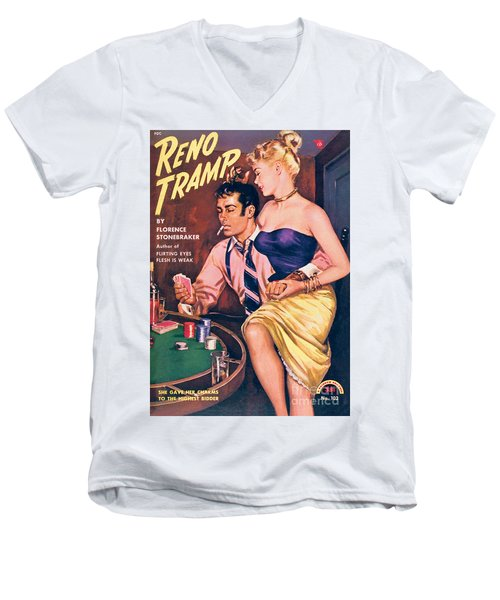 Reno Tramp Men's V-Neck T-Shirt