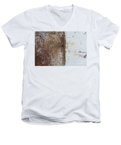 Men's V-Neck T-Shirt featuring the photograph Repaint Number Eight by Brian Boyle