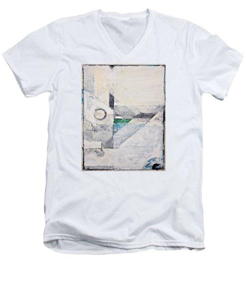 Reservoir  Men's V-Neck T-Shirt by Cliff Spohn