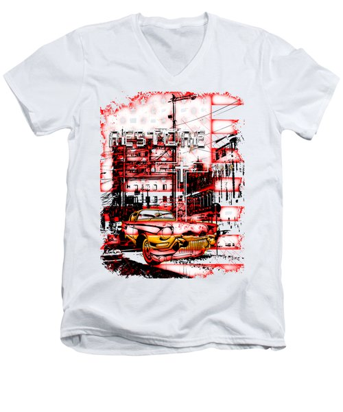Restore Men's V-Neck T-Shirt