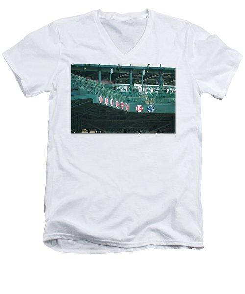 Retired Numbers Men's V-Neck T-Shirt