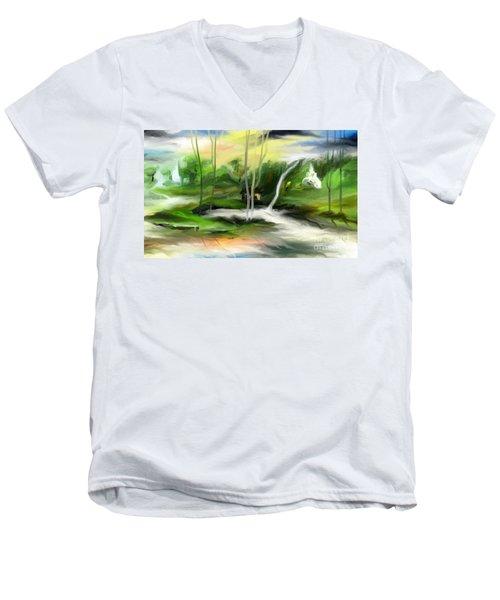 Retreat Men's V-Neck T-Shirt