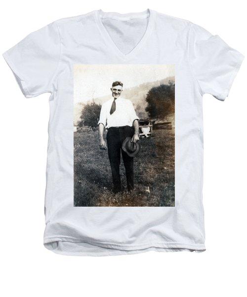 Retro Photo 01 Men's V-Neck T-Shirt