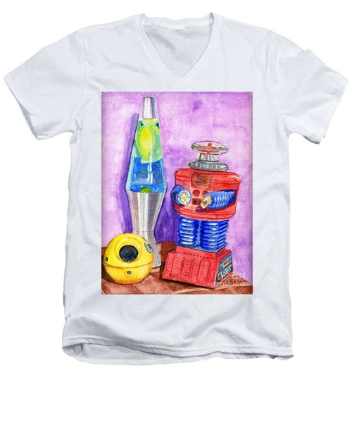 Retro Toys Men's V-Neck T-Shirt