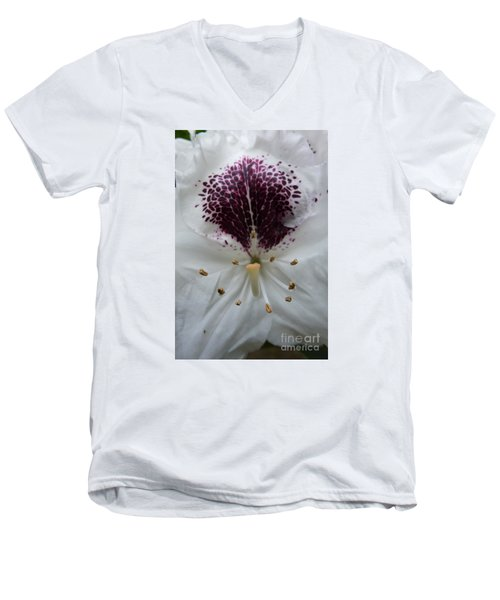 Rhododendron 2 Men's V-Neck T-Shirt