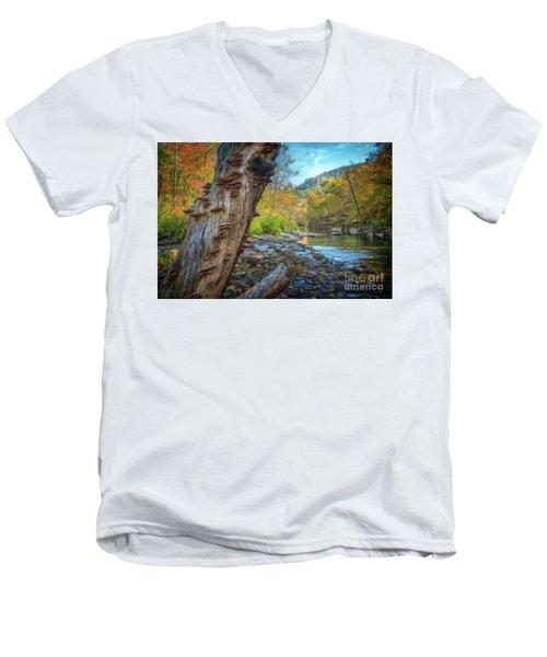 Richland Creek Men's V-Neck T-Shirt