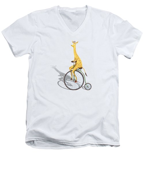 Ride My Bike Men's V-Neck T-Shirt