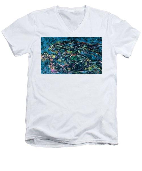 Ride The Wind Men's V-Neck T-Shirt