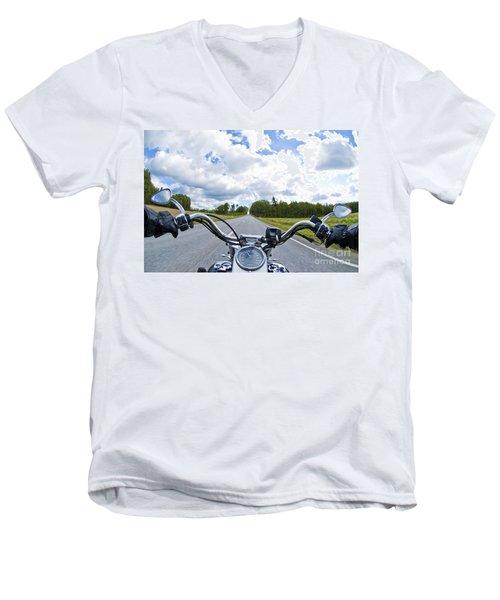 Riders Eye View Men's V-Neck T-Shirt