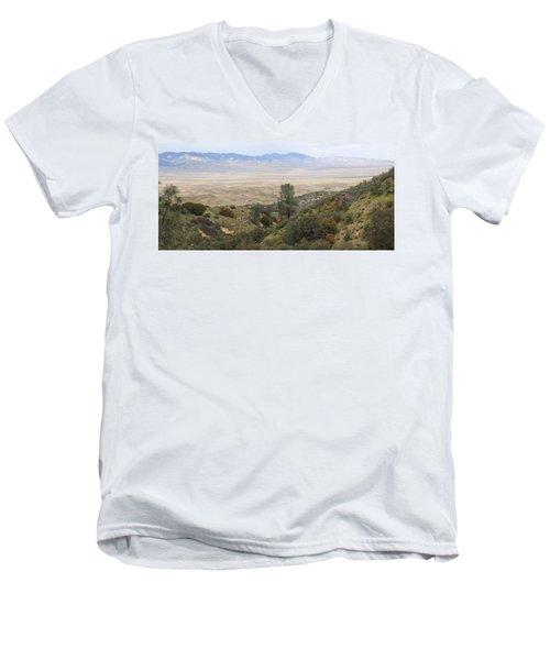 Ridge Route View Men's V-Neck T-Shirt