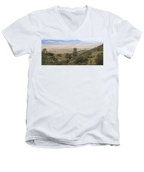Ridge Route View Men's V-Neck T-Shirt