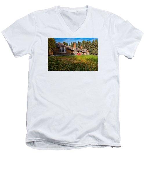 Riding Mountain National Park Men's V-Neck T-Shirt