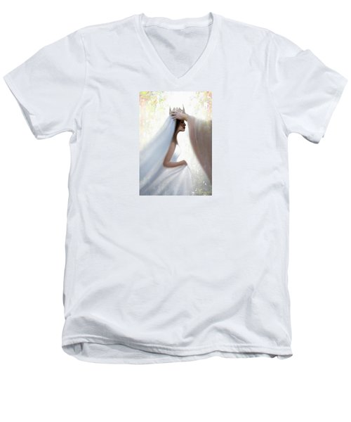 Righteous Crown Men's V-Neck T-Shirt by Kume Bryant