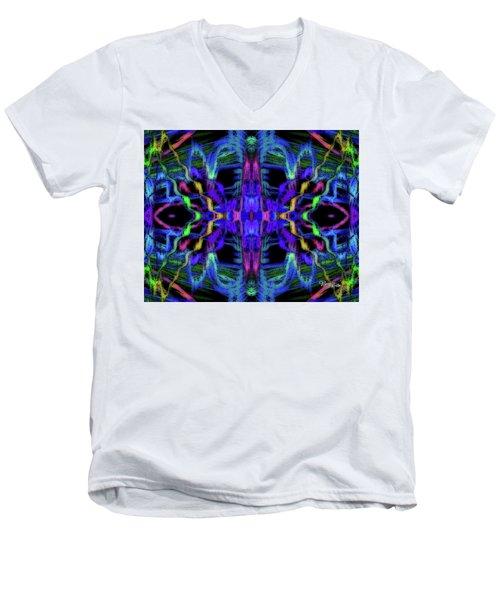 Rings Of Fire Dopamine #156 Men's V-Neck T-Shirt