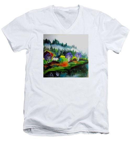 Monte Rio Russian River Men's V-Neck T-Shirt
