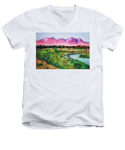 Rio On Country Club Men's V-Neck T-Shirt