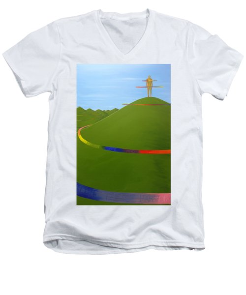 Ripples Of Life 1.4 Men's V-Neck T-Shirt