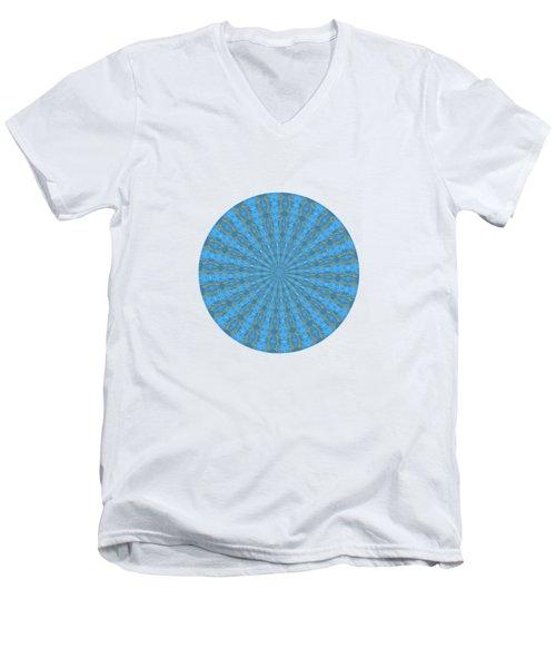 River Blue Men's V-Neck T-Shirt