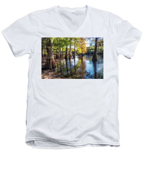 River Eeriness Men's V-Neck T-Shirt