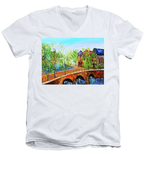 River Runs Through It Men's V-Neck T-Shirt