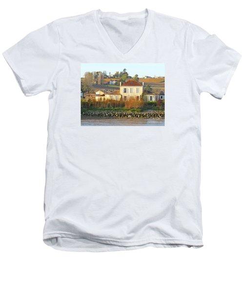 Riverside Excellence Men's V-Neck T-Shirt