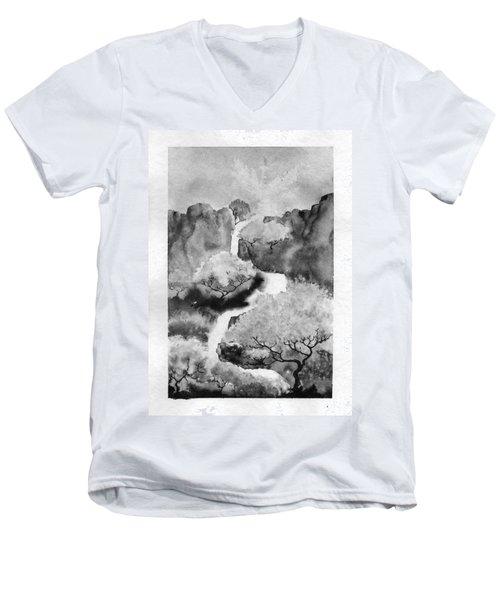 Riviere Celeste Men's V-Neck T-Shirt