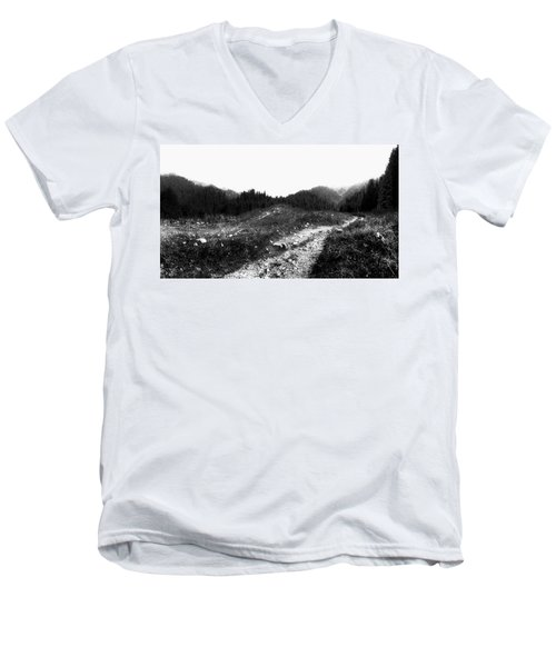 Road Men's V-Neck T-Shirt