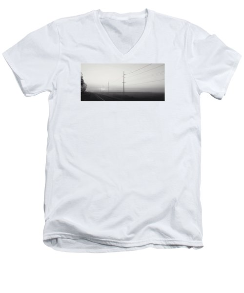 Road To Nowhere Men's V-Neck T-Shirt by Sarah Boyd