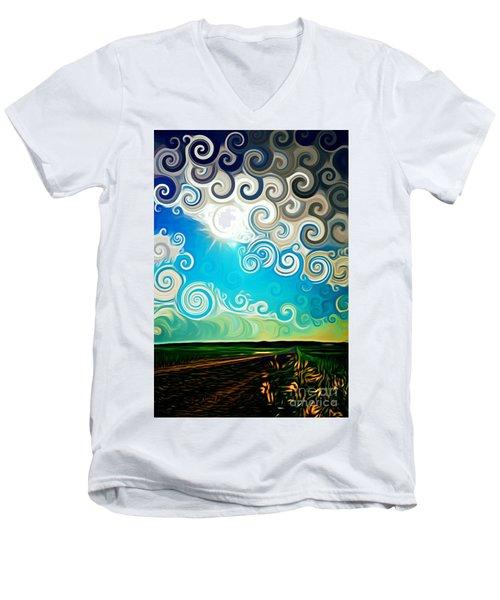 Road To Whimsy Men's V-Neck T-Shirt
