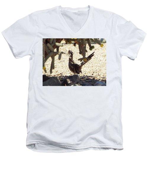 Roadrunners Shade-time Men's V-Neck T-Shirt