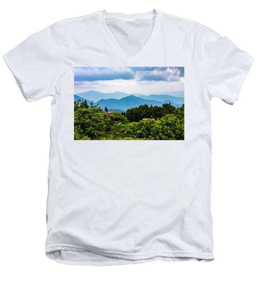 Roan Mountain Rhodos Men's V-Neck T-Shirt