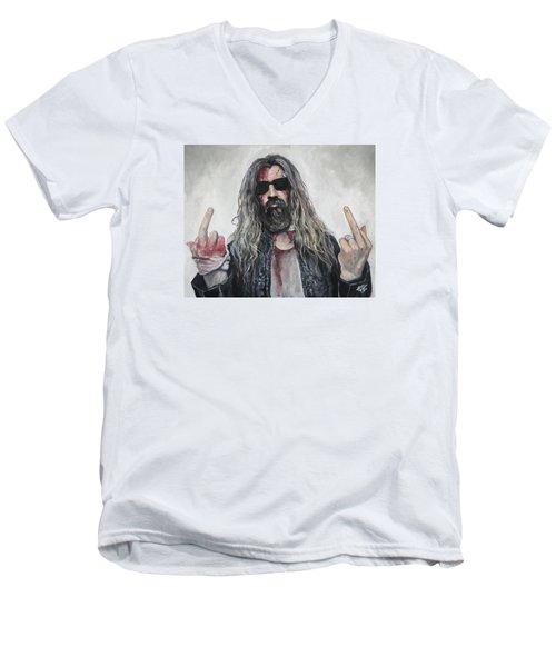 Rob Zombie Men's V-Neck T-Shirt