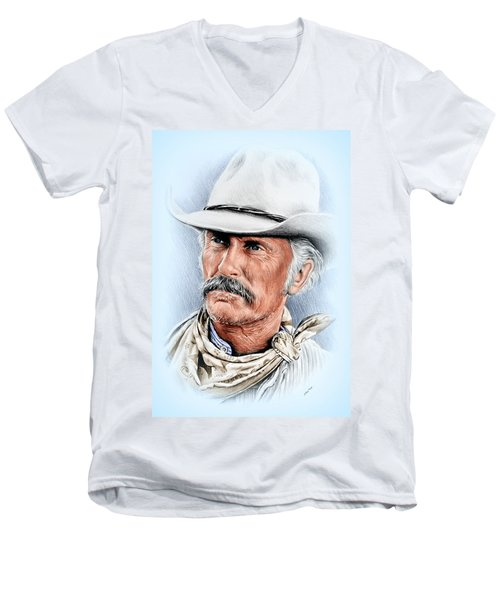 Robert Duvall As Gus Mccrae Men's V-Neck T-Shirt