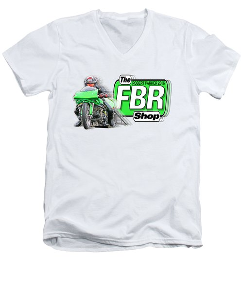 Robert Parker 2016 001 Men's V-Neck T-Shirt