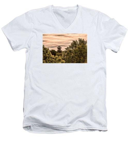 Robinson 3d Men's V-Neck T-Shirt
