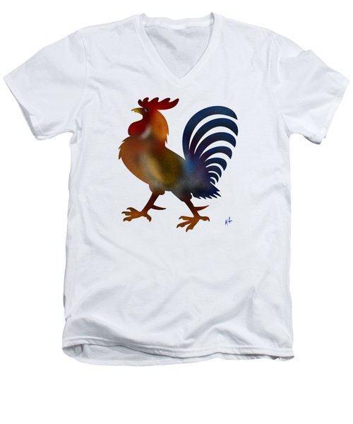 Rock A Doodle Doo Men's V-Neck T-Shirt