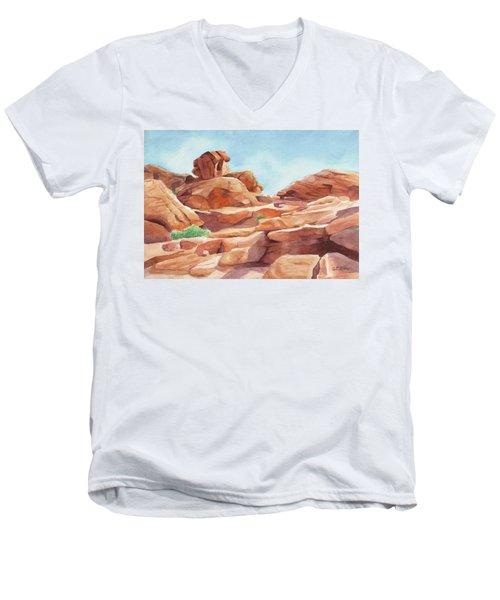 Rock Away Men's V-Neck T-Shirt
