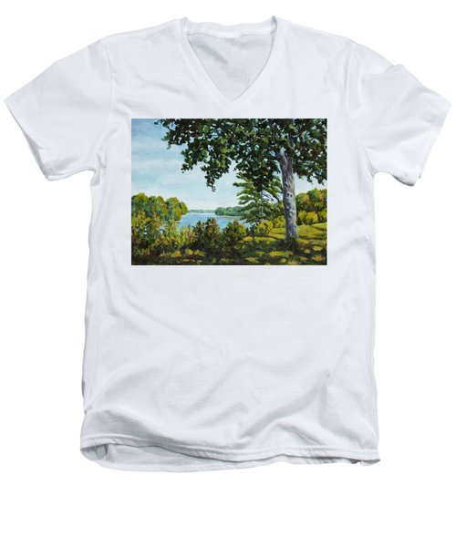 Rock Cut Men's V-Neck T-Shirt