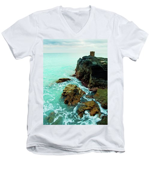 Rocky Landing Men's V-Neck T-Shirt