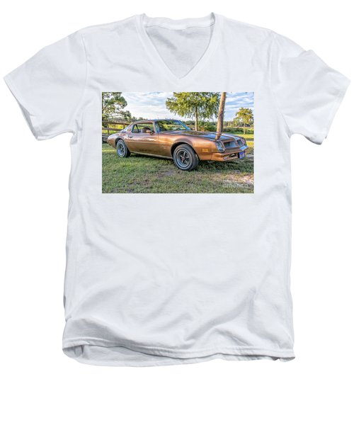 Rocky Pass Men's V-Neck T-Shirt by Brian Wright