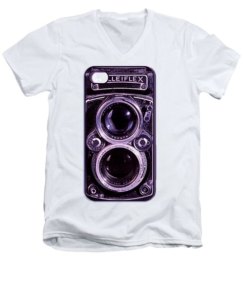 Eye Rolleiflex Euphoria Men's V-Neck T-Shirt by Joseph Mosley