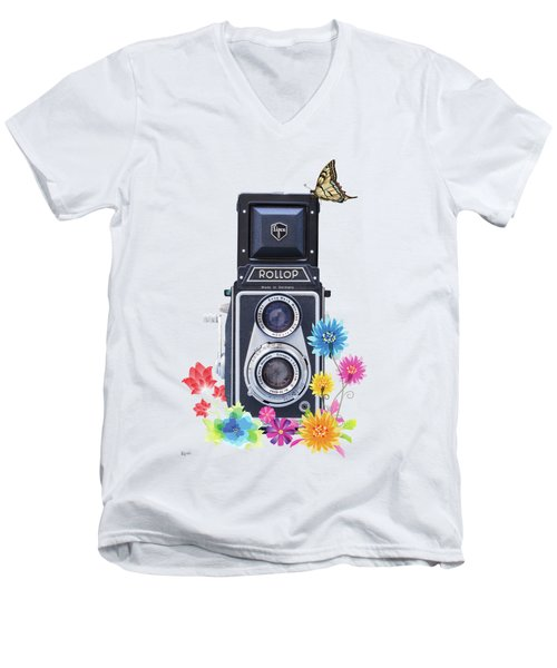 Rollop Men's V-Neck T-Shirt