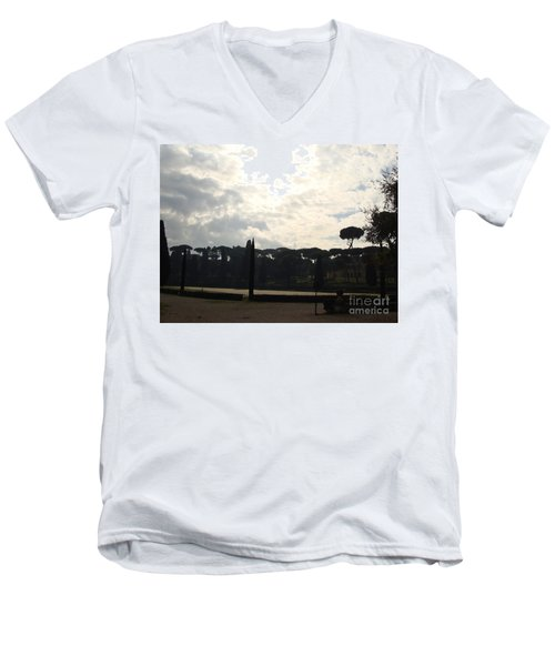 Roma, Villa Borghese Men's V-Neck T-Shirt
