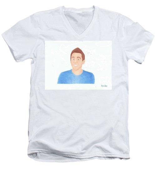 Roman Atwood Men's V-Neck T-Shirt