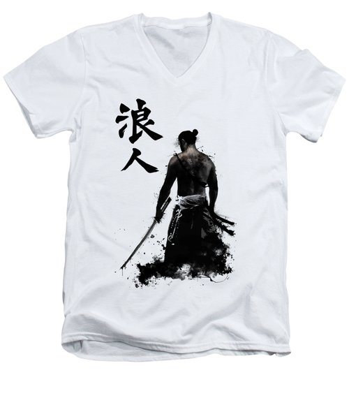 Ronin Men's V-Neck T-Shirt by Nicklas Gustafsson