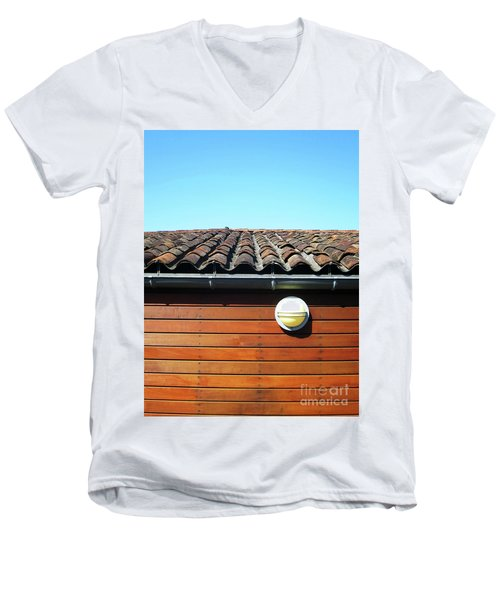 Roofline Ripples Men's V-Neck T-Shirt